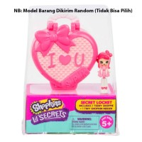 Shopkins Lil Secrets Locket - Satuan