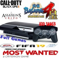 PS3 / PLAYSTATION 3 FAT SONY HDD 500GB (Special)