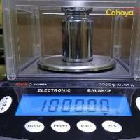 ORIGINAL Timbangan Digital HWH 2000g akurasi 0.01g Tim Big Promo
