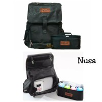 Cooler bag Ransel Tas ASI Gabag Nusa muat laptop