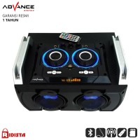 Speaker Bluetooth Advance M8300BT Hi Fi Speaker Karaoke