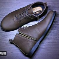 Sepatu Pria BUSCH Brodo Zip Original Ftwr