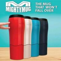 Mighty Mug Tumbler Botol Termos Thermos Minum Anti Tumpah