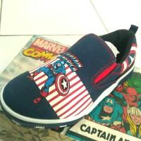 sepatu anak Captain America original