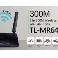 TP-LINK TL-MR6400 Wireless 4G LTE Router W/ slot simcard PROMO