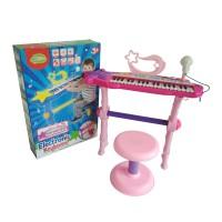 Mainan Edukasi Musikal Anak Elektronik Keyboard 37 Keys Piano MTK007A