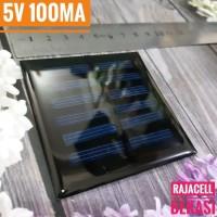 Panel Surya Mini Solar Cell 5V 100mA 70x70mm Polycrystalline Epoxy