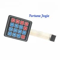 Modul Membrane Switch Keypad 16 Key 4 x 4 Matrix Array 4x4 8 Pin