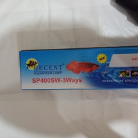 aquarium lampu led RECENT SP 400 SW 3 WAYS 40 cm 15 watt