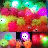 Yoyo Ubur-Ubur Lampu Puffer Ball Mainan Anak Laki-Laki dan Perempuan