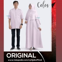 ORI!! CELOS SET COUPLE EXLUSIVE BY SILMEE INDONESIA FASHION MUSLIM