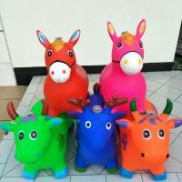 Jumping animal music - Mainan tunggang / kuda kudaan karet