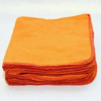 serbet orange / kain lap / kain lap dapur
