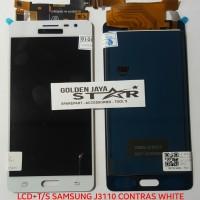 LCD SAMSUNG J3110 CONTRAS WHITE+T/S (GALAXY J3 PRO 2016)