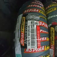 Aspira premio sportivo 140/70 ring 17 ban tubeless motor cbr ninja r15