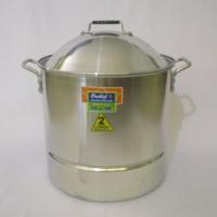Panci Steamer Stock Pot 2 MM ( SPS40x40) ORCHID