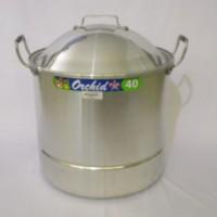 Panci Steamer Stock Pot 0.8 MM ( SPS40 ) ORCHID