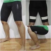 BARU!! Celana Pendek Baselayer Nike Pro / Adidas Gym Futsal Renang dll