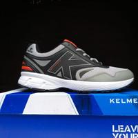 Sepatu Original Kelme Seattle Flat Running / Black Orange / Gym