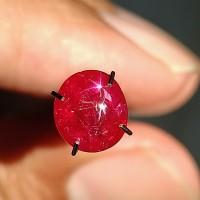 Batu permata Natural star ruby burma 1.97 crat ada mirah