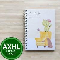 Dear Baby Pregnancy Journal A5 KUCING PeekMyBook Buku Jurnal Kehamilan