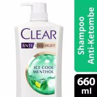 Clear Shampo / Shampoo Anti Ketombe Ice Cool Menthol 680ml / 680 ml