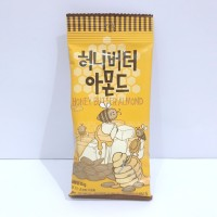 Tom's Honey Butter Almond 35gr Mini / Kacang Almond Lapis Madu Import