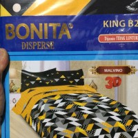 Sprei Bonita Size King 180x200 Motif Malvino - Melissa - Davinci
