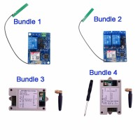 1 Channel 2 Channel Relay Module SMS GSM Remote Control Switch