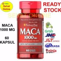 Puritan s Pride MACA 1000 mg 60 Kapsul untuk vitalitas