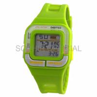 JAM IMPORT JAM EXPORT WANITA Digitec DG3026T GRN Digital Watch Jam Ta
