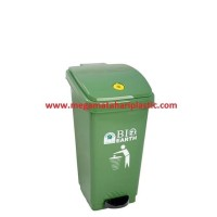 Baru Tempat Sampah Injak / Pedal Dustbin BIO 50 Ltr 2160 Green Leaf