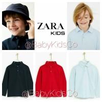 ORIGINAL BRANDED Zara Baby Kids Polo Shirt -kaos kerah bayi anak laki