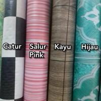 Paling Laris Perlak Lantai Karpet Vinyl Non Glossy 1 Roll 17m