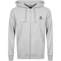Jaket Hoodie HALFZiPPER Sweater LOGO KECiL CONVERSE polos custom Murah