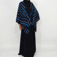 outer/cardigan/blouse/kemeja casandra black blue