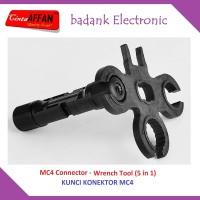 MC4 Connector Wrench Tool (5 in 1) Kunci MC-4 Solar Panel Surya
