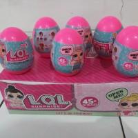 mainan telur LOL egg suprise murah LOL doll dalam telor