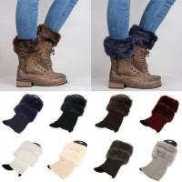 pureshope kaos kaki winter bulu boots musin dingin hangat thermal