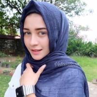 Jilbab Hijab Pasmina ombre kusut rawis no setrika