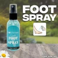 Bio Herbal Foot Spray Deodorant Pengharum - Original BPOM