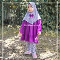 Nayla Legging Set - Baju Muslim Balita - Setelan Blouse Anak Kekinian