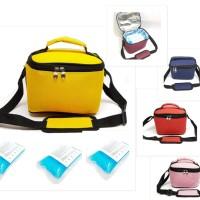 Cooler Bag Murah yellow Tas Asi Murah Free 3 Ice Gel Cooler Bag Murah