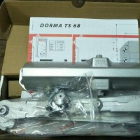 Door closer DORMA TS68 HOLD OPEN silver