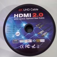 KABEL HDMI OPTIC UHD 50M