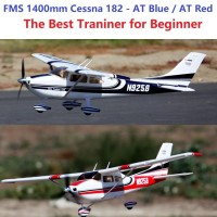 FMS 1400 Mm 14 M 551 quot langit Pelatih Cessna 182 V2 Di