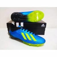 SEPATU BOLA Adidas X Adizero 18 FG Grade Ori (Blue Volt)