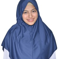 Kerudung Sekolah Innova Lx (S) Rabbani Hijab Jilbab Scarf Khimar New