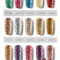 Rosalind Big Glitter W Series Rosalind Glitter gel polish kutek gel