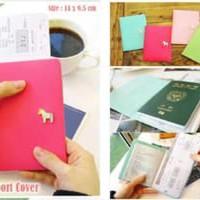 Jual Korean Pony Passport Cover (Sampul passport dari kulit taiga h